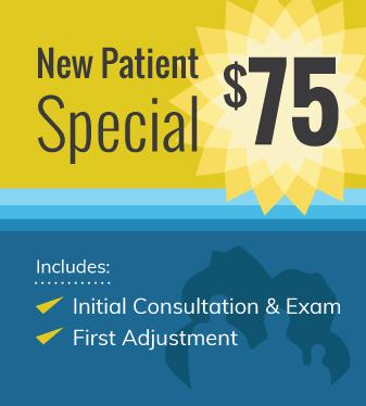Consultation, Exam & 1st Adjustment Just $75