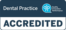 dental practice accredited logo