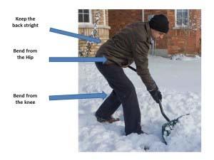 Snow shovel do