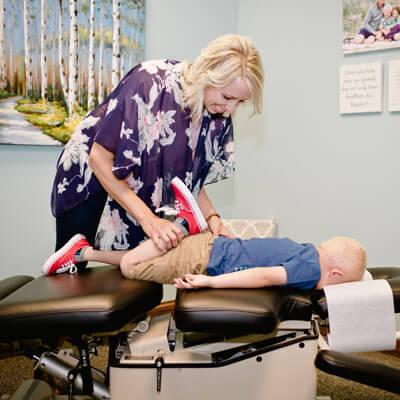 Children's leg adjustment