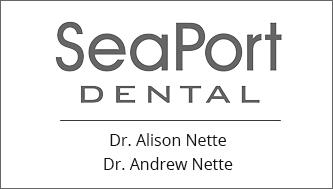 SeaPort Dental logo - Home