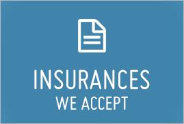 Insurances We Accept
