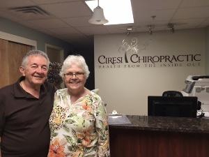Patients at Ciresi Front Desk
