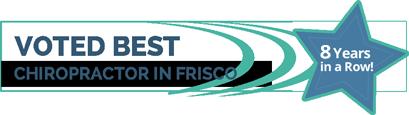 voted best chiropractor in Frisco banner