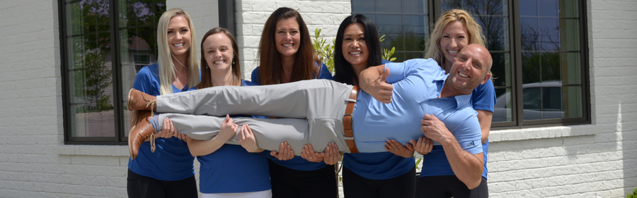 Having fun at Vital Connection Chiropractic