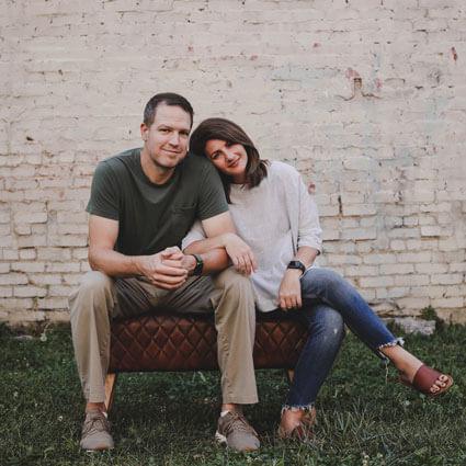 Johnson City Chiropractor, Dr. Josh Gilmer and wife Jen