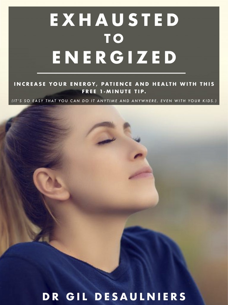 Exhausted to Energized cover page image