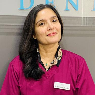 Dentist Gungahlin, Dr. Zainab Mohamed