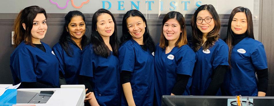 Shine Gungahlin dental team