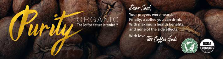 Purity coffee banner