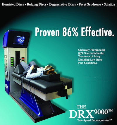 DRX9000 Spinal Decompression Machine