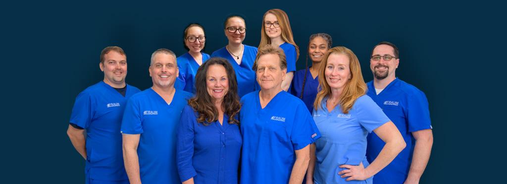 fraum center for restorative health team