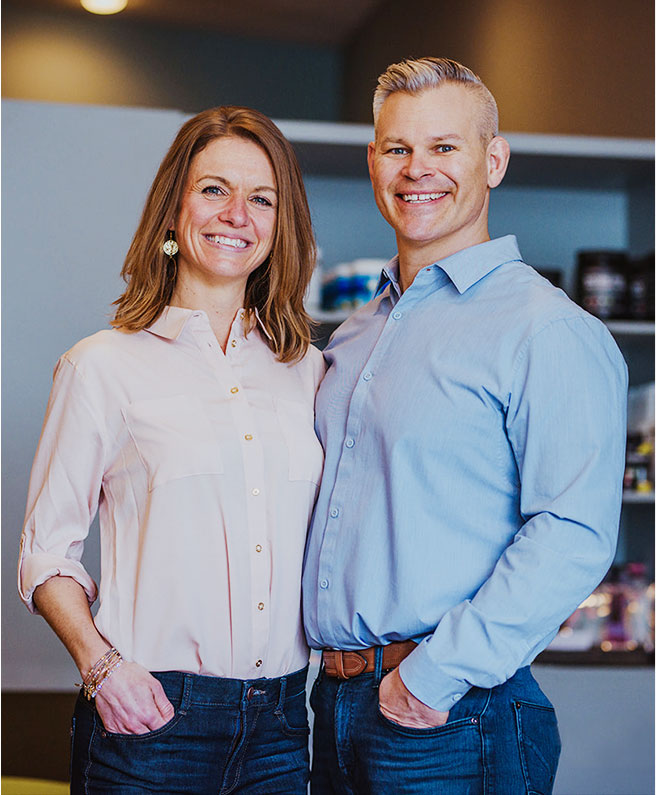 Dr. Lisa and Dr. Rob