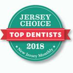 jersey choice top dentist 2018 award