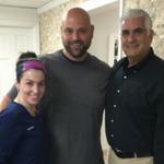 dentist anthony caramico with football coach