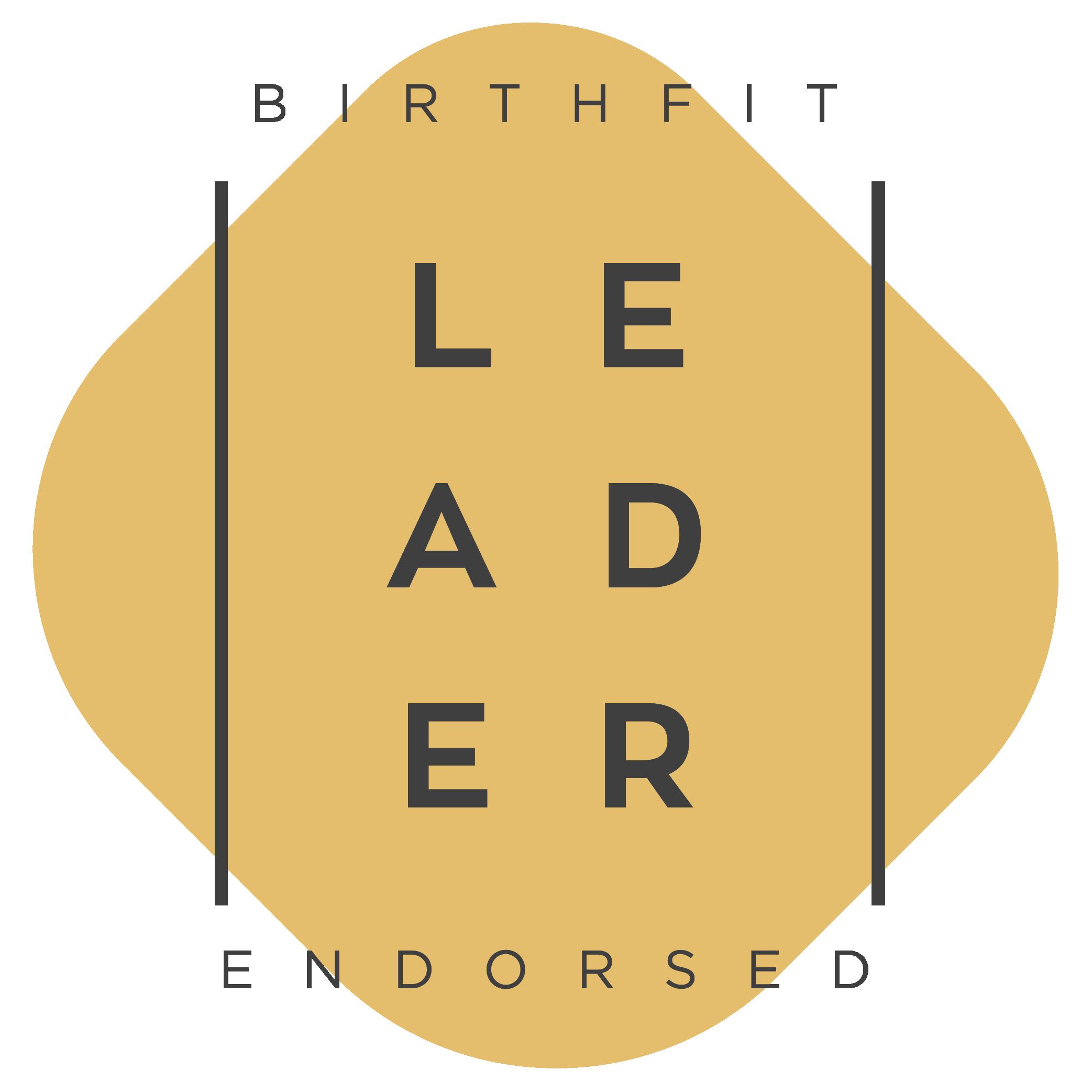Birthfit leader badge