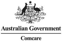 Australian Comcare logo