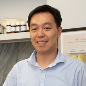 Dr James Tran, Naturopath and Acupuncturist