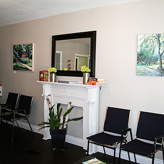 Waiting Room for New Patients at Cookstown Chiropractic & Wellness Centre