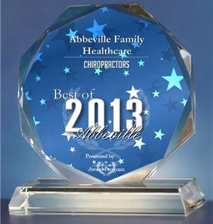 Abbeville Family Healthcare Award