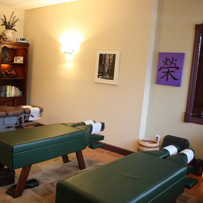Chiropractic Adjusting Room at Abbruzzese Wellness