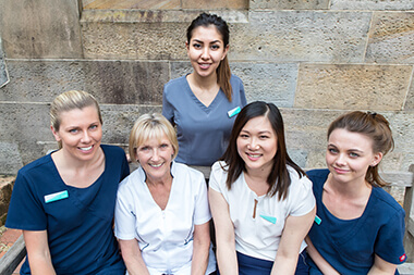 The team at The Dentistry on Macquarie St