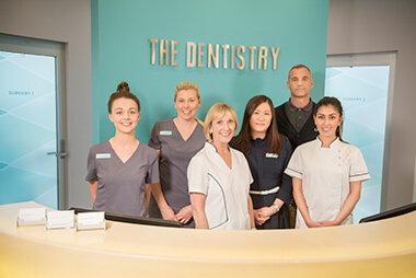 The team at The Dentistry