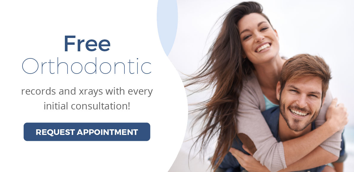 Free Orthodonic Records And XRays With Every Initial Consultation - Click here to request an appointment