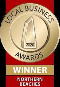 Wavescape Orthodontics award badge