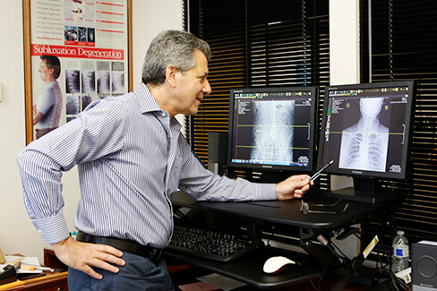 New Patients at Teitelbaum Chiropractic Xray Review