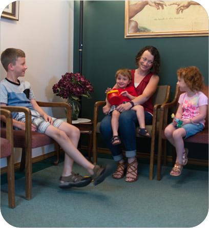 Chiropractor Yakima Waiting Room
