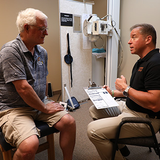 Consultation with patient and Dr. Ormsby