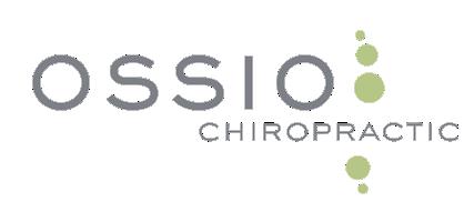 Ossio Chiropractic logo - Home