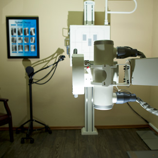 Xray machine in office