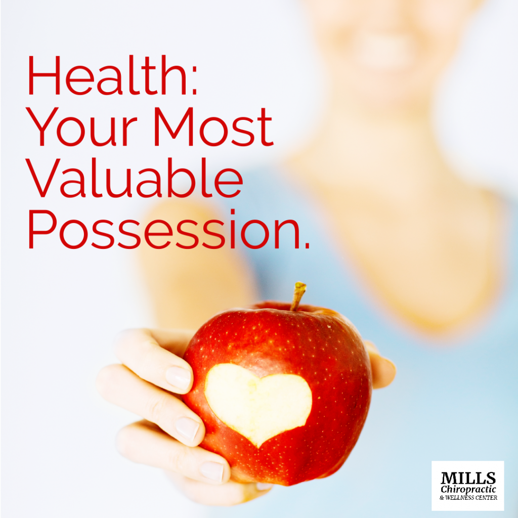 Health Your Most Valuable Possession