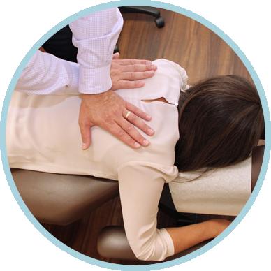Chiropractic adjustment in Morrisville