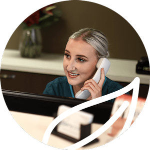 Receptionist at Albany Place Dental Practice