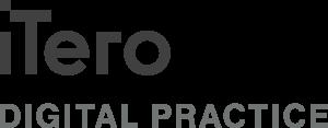 iTero Digital Practice logo - Black logo on white background