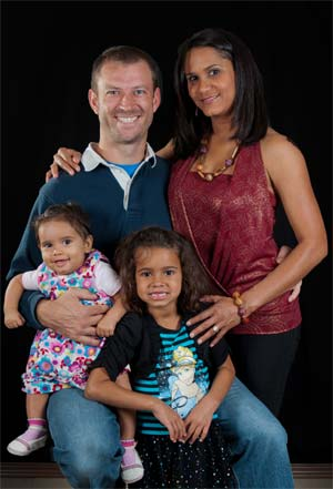 The West Lafayette Chiropractor and his family!