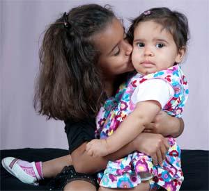 West Lafayette Chiropractor's daughters