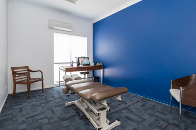 Treatment room at Chiropractic Care North QLD