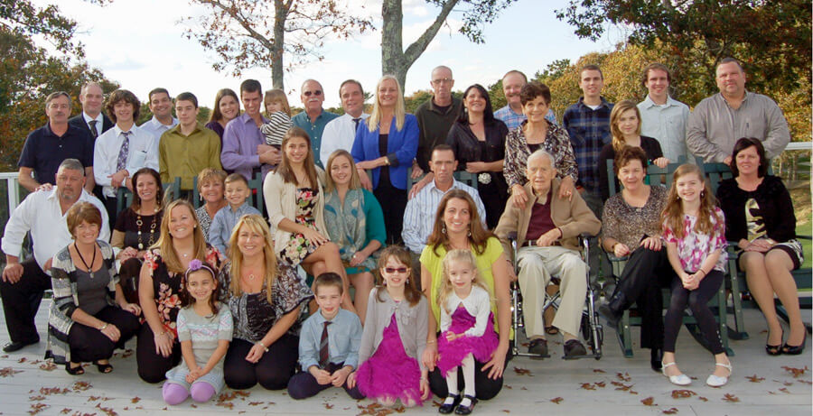 Multiple Generations of Connors Family