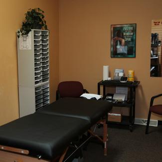 Oak Creek Relief & Wellness Exam room