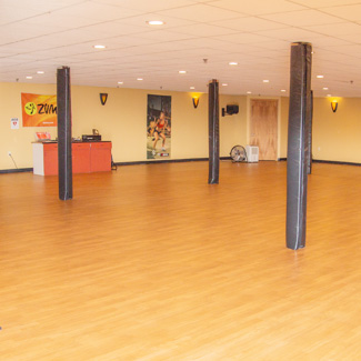 Group fitness room
