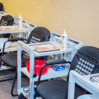 Neuropathy Therapy stations