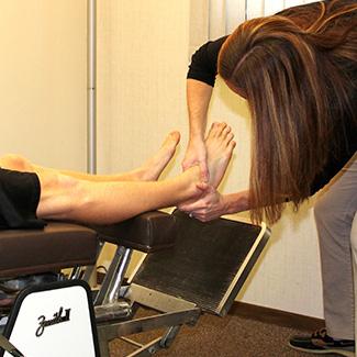 Ankle adjustment