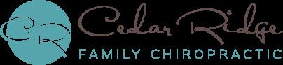 Cedar Ridge Family Chiropractic logo - Home