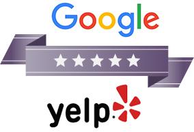 Google & Yelp banner