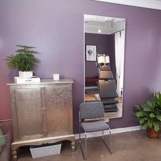 Treatment room at Total Balance Chiropractic
