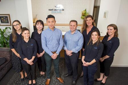 The team at East Adelaide Dental Studio
